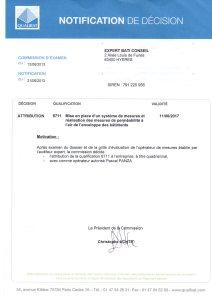 certificat qualibat Expert Bati Conseil